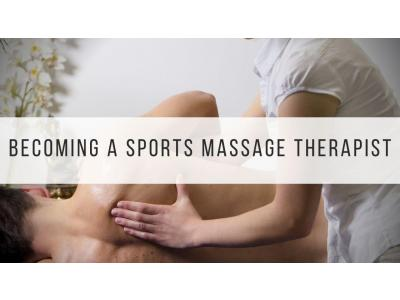 Sports massage therapist career
