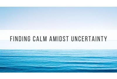 how to stay calm blog