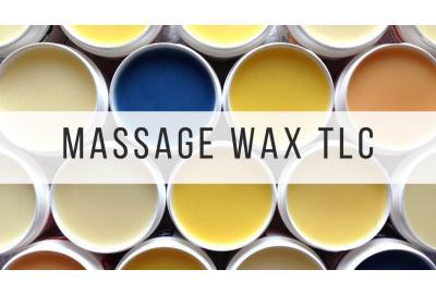 Songbird Naturals massage wax open pots