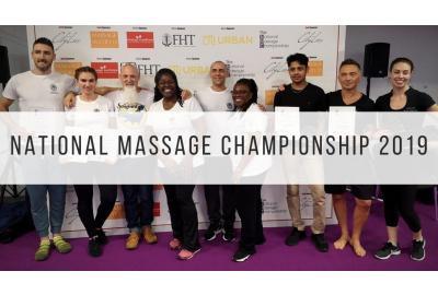 Winners of the National Massage Championship 2019