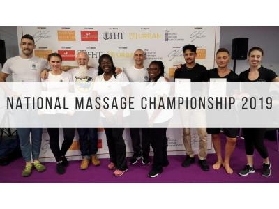 Winners of the National Massage Championship 2019